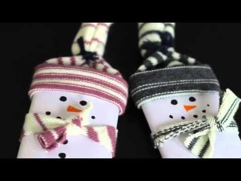 4 karácsonyi DIY ajándék filctollal - YouTube