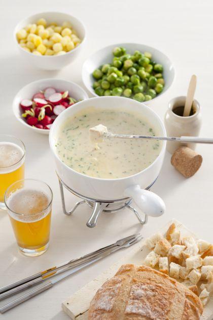 Recept voor kaasfondue met mosterd en bier