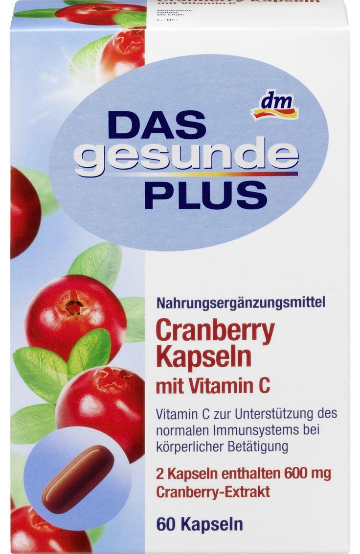 Cranberry Kapseln mit Vitamin C