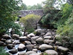 DARTMEET - One of Dartmoors most popular beauty spots, where the the East and West Dart Rivers meet.