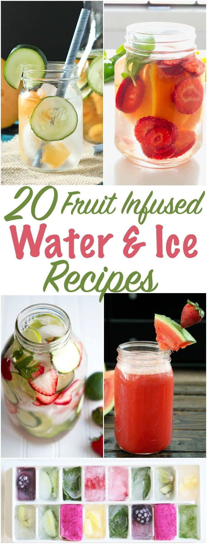 With Summer just around the corner, we need refreshing drinks to get us through the day. Check out these fruit infused flavored water combinations. This post contains affiliate links. Strawberry Orange Basil Infused Water Apple Orange Raspberry Water Orange Strawberry Mint Water Strawberry Jalepeńo Water Strawberry Lime Cucumber Water Cantaloupe Strawberry Water Apple Cinnamon Water...Read More »