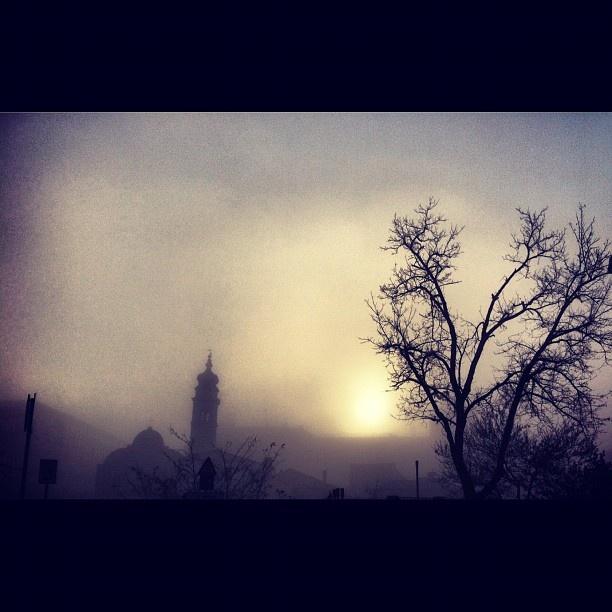 #venezia #venice #whitesky #fog  #nebbia #dawn #sunrise
