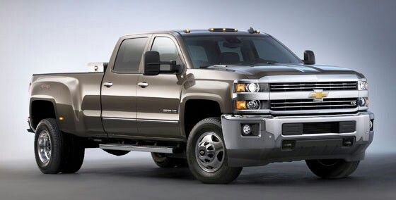 All new 2015 Chevy Silverado 2500 HD
