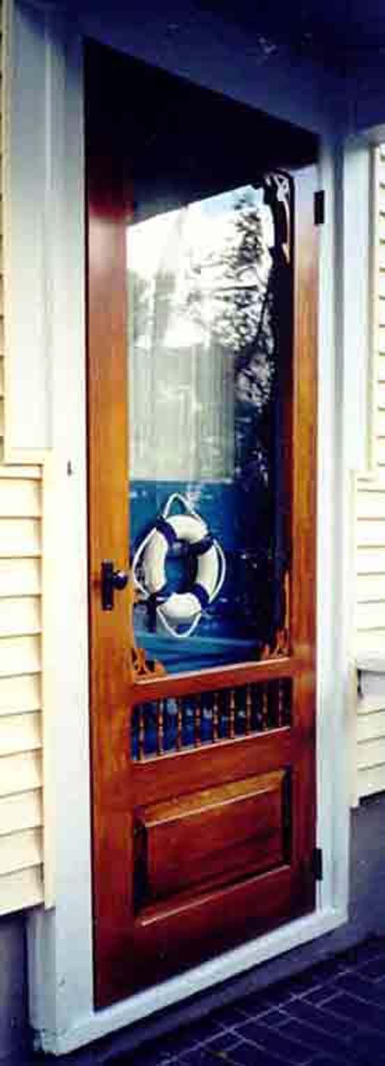 221 best images about screen storm doors on pinterest for Storm door with screen on top
