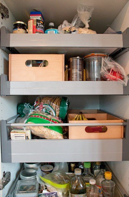 Ikea Trones Armoire A Chaussures ~ Organized kitchen, Kitchen cabinet organizers and Cabinet organizers