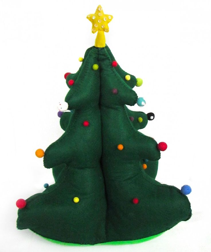 Christmas Felt Craft Ideas Part - 33: Find This Pin And More On Felt Crafts.