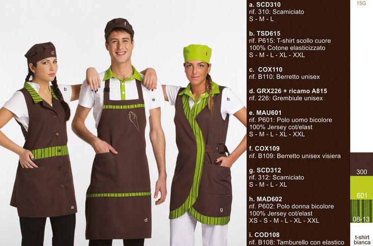 La tua g#elateria e la tua #pasticceria, potranno trovare tutto l'abbigliamento professionale di cui hanno bisogno, #grembiuli, #polo, #t-shirt, #magliette, #cappelli, #camicie, #bandane, #pantaloni. SCD310 36, 00 EUR. http://www.creativity-vi.com/oscommerce/index.php?cPath=24&osCsid=lrgtc6sagp07nv80fil34gr733