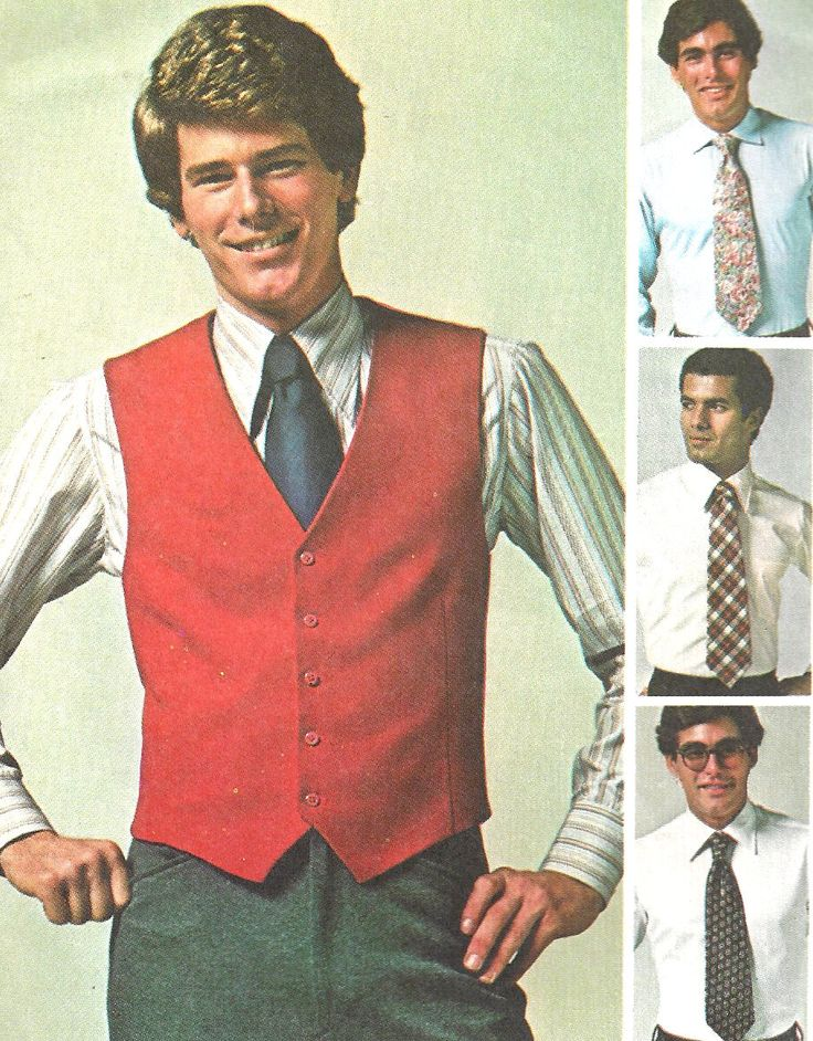 1970s Vest Pattern V Neck Front Button Wide Tie Jiffy Simplicity Vintage Sewing Men's Size 40 Chest 40 Inches Waist 34 Inches by SelmaLee on Etsy