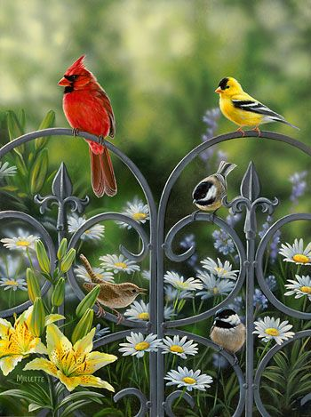 """""""Summer Companions – Songbirds"""" by Rosemary  Millette"""