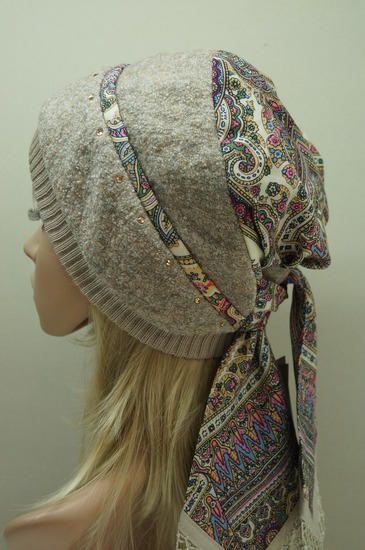 бандана - Шапки, шарфы, комплекты - Галерея - Knitting Forum.Ru