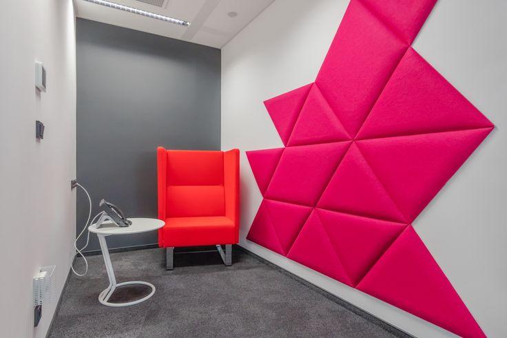 Biuro JLL w Warsaw Spire (Plac Europejski 1) - Hush Room