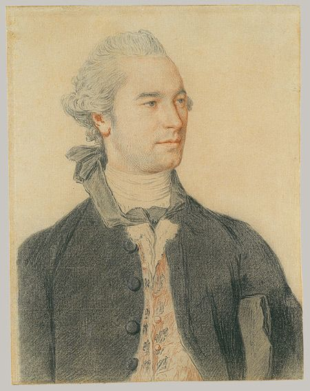 Jean Etienne Liotard. Portrait of a man  Tumblr