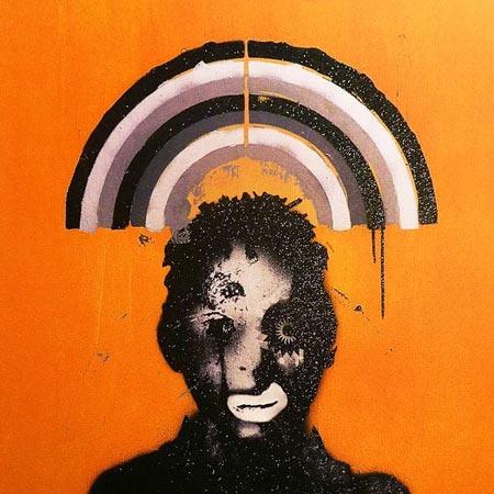 Massive Attack's album Heligoland. Artwork by band member Robert del Naja.