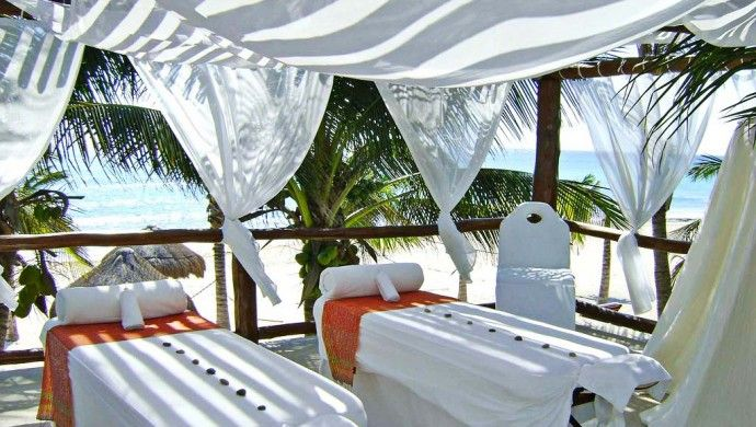 Le Reve Hotel & Spa: The on-site spa offers pampering massage and facial treatments in a breezy, oceanfront setting.