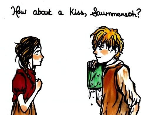 Book Thief Fan Art / Quote / Rudy / Liesel