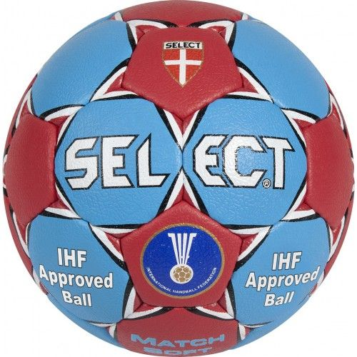 Ballon handball Select Match Soft 2014 - www.club-shop.fr équipementier sportif