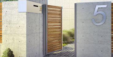 Horizon Wood | Nowoczesne Ogrodzenia Aluminiowe | Drewniane