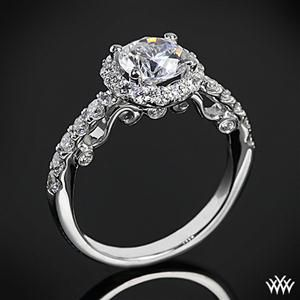 Dreamy art deco ring. Another favoriteDiamond Engagement Rings, Vintage Ring, Wedding Ring, Halo Diamonds, Engagementrings, Jewelry, Dreams Rings, White Gold, Diamonds Engagement Rings