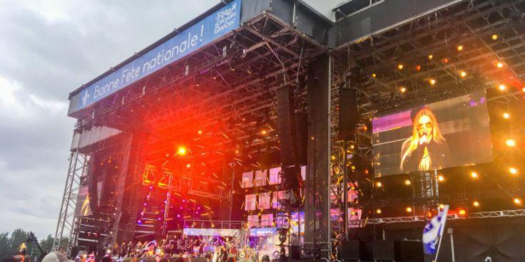 La fête nationale épargnée par les averses à Québec