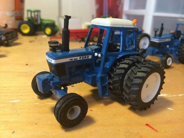 64 Ford 601 Tractor : Ford tw  farm equipment pinterest