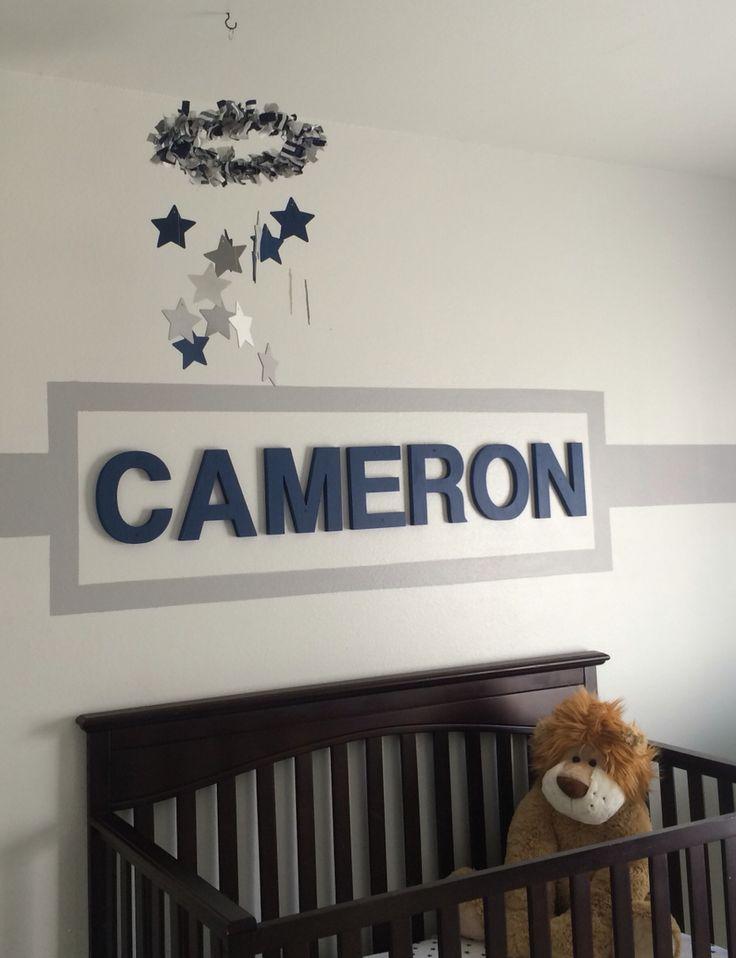 Baby Cameron's Dallas Cowboys nursery!