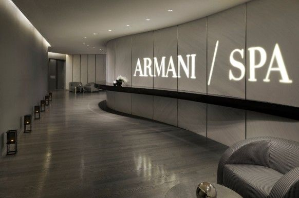 Inside Burj Khalifa, the tallest tower in the world, lives a luxuriously new and often dark world called the Armani Hotel Dubai...