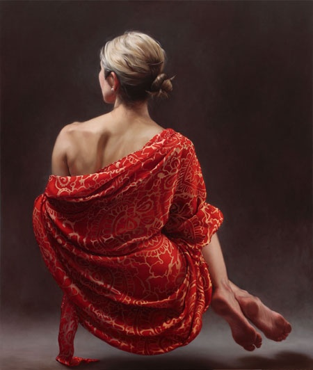 Claire Bridge at Flinders Lane Gallery: Award winning neo-Classical portrait, nude and landscape painter