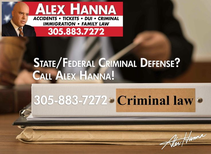 Arrested for DUI or any State or Federal Crime? Need an