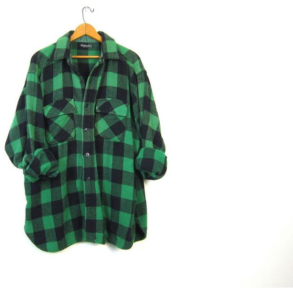 Best 25 green flannel ideas on pinterest oversized for Green and black plaid flannel shirt