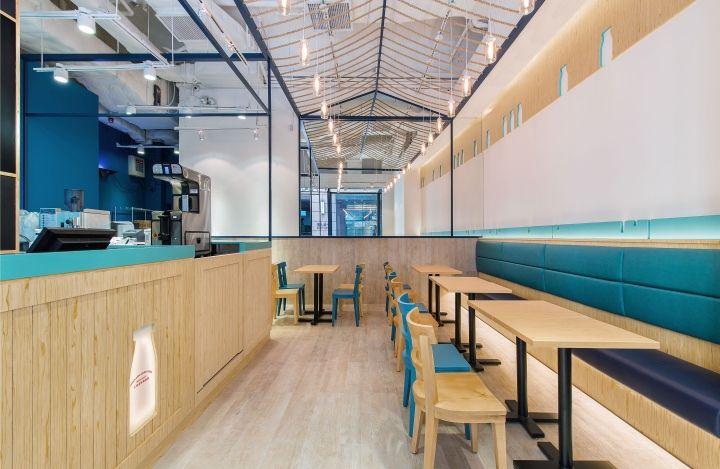 Hokkiado Dairy Farm Restaurant by Joey Ho Design, Hong Kong