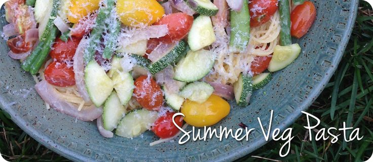 You have got to try this recipe!!!  It's a great way to use fresh veg in the summer and frozen veg in the dead of winter.  Enjoy!