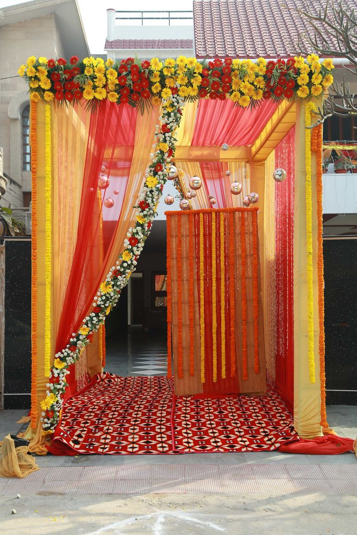 """""""Every flower is a soul blossoming in nature."""" #speisialtaevents #events #decor #decoration #weddingplanner #evenorganizer For Booking Call:+91-9350655999, +91-9350455999"""