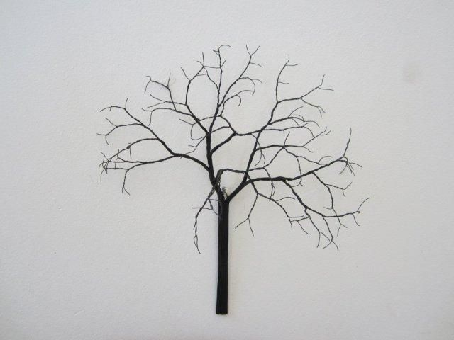 wire acacia tree at Dorpstraat Galery Stellenbosch