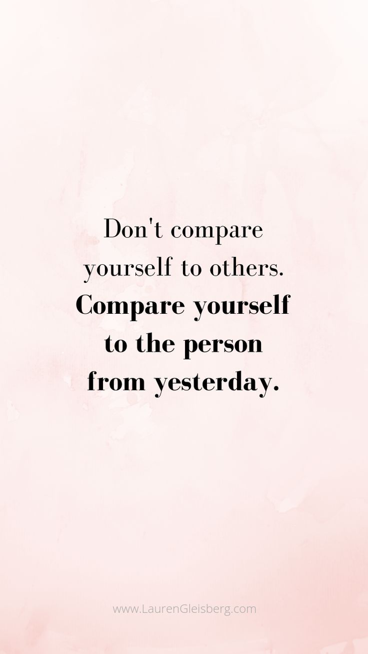 BEST MOTIVATIONAL & INSPIRATIONAL GYM / FITNESS QUOTES – don't compare yourself to others compare yourself to the person you were yesterday