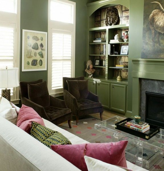 Green And Chairs Decorative Interior Of Dreams And Architecture Pinterest