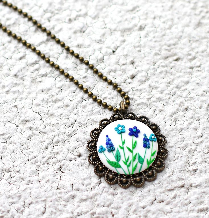 Boho necklace White necklace Flower pendant Granny gift for Grandma jewelry Birthday gift for her Christmas present Cyber monday sale Friday https://www.etsy.com/listing/233335520/boho-necklace-white-necklace-flower?utm_campaign=crowdfire&utm_content=crowdfire&utm_medium=social&utm_source=pinterest