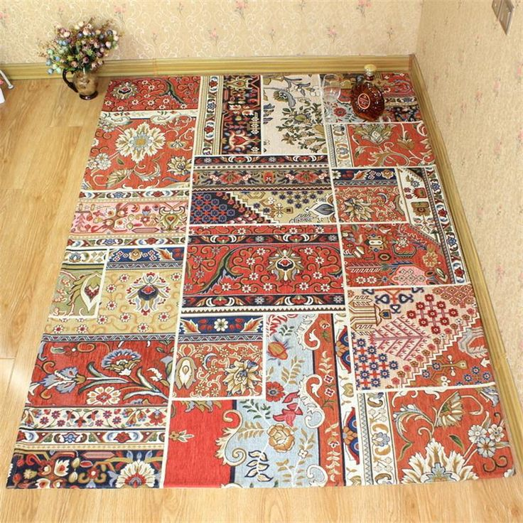 120X180CM Bohemian Style Carpets For Living Room Mediterranean Europe Rugs And Carpets For Home Bedroom Coffee Table Area Rugs