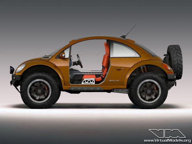 Volkswagen New Beetle BAJA Concept by Sebastian Motsch.