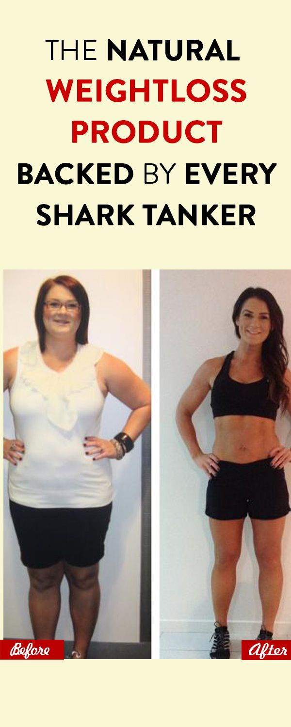The Natural Weightloss Product Backed By Every Shark Tanker