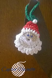 Capitan Uncinetto: Santa Claus decorations