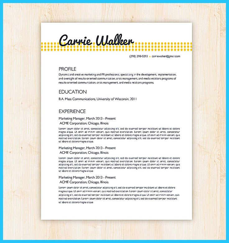10 best Visual cv images on Pinterest | Curriculum, Resume and ...