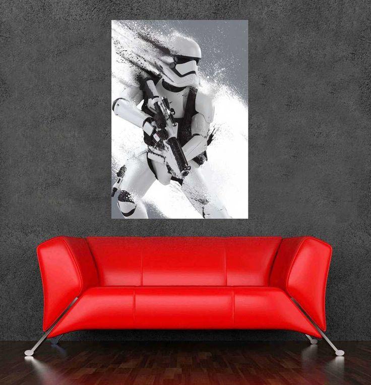 Günstige 2015 erstaunlichen Film star wars plakat Stormtrooper aufkleber für wand dekor 90x60cm, 36x24inch versandkostenfrei, Kaufe Qualität Wandaufkleber direkt vom China-Lieferanten: 2015 erstaunlichen Film star wars plakat Stormtrooper aufkleber für wand-dekor 90x60cm, 36x24inch oder 75x60cm, 31.5x24i