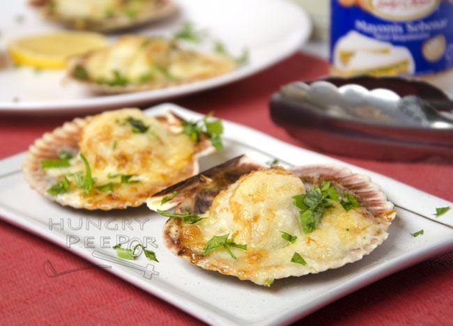 recipe: baked scallops florentine [28]