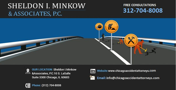 If you have been injured in a workplace accident, Chicago work injury lawyer Sheldon Minkow will help you navigate the Illinois worker's compensation system so that you receive the benefits you deserve.