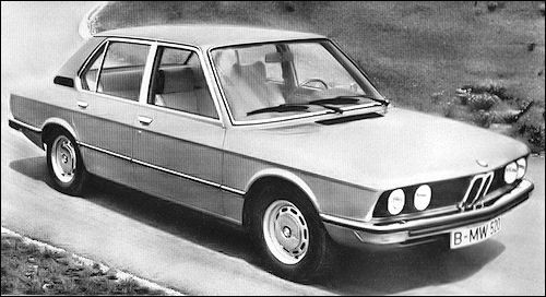 Launched in 1972, the BMW 520
