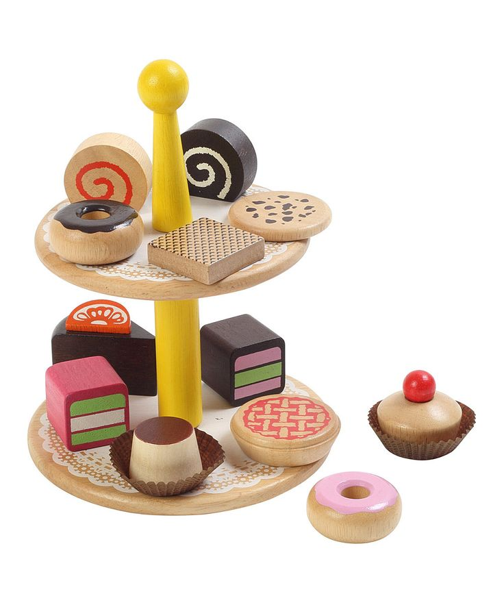 Loving this Toy Delicious Pastry Set on #zulily! #zulilyfinds