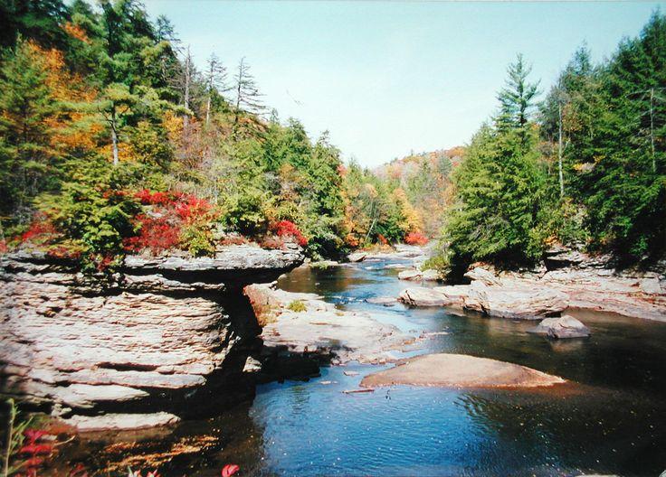 Swallow Falls State Park, Deep Creek Lake, Maryland
