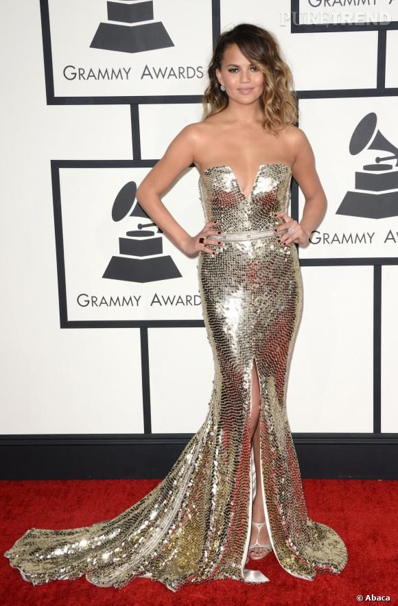Christine Teigen, Grammy Awards 2014.
