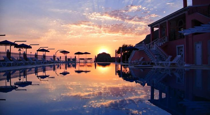 Hotel Elena Ermones Ermones Hotel Elena is a friendly family run hotel on the island of Corfu. Located on the Ermones resort, this is a perfect opportunity for quiet outdoor relaxation.   Hotel Elena provides a recreational alternative to the busier tourist locations of Greece.