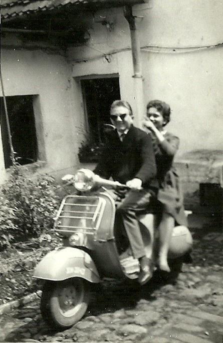 Jakiś skuter/motocykl